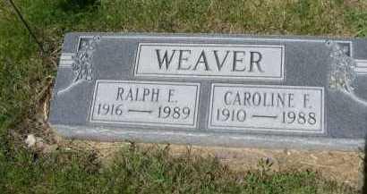 WEAVER, CAROLINE F. - Dawes County, Nebraska   CAROLINE F. WEAVER - Nebraska Gravestone Photos