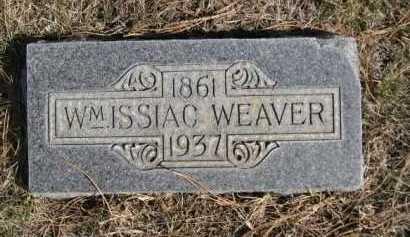 WEAVER, WM. ISSIAC - Dawes County, Nebraska   WM. ISSIAC WEAVER - Nebraska Gravestone Photos