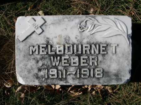 WEBER, MELBOURNE T. - Dawes County, Nebraska | MELBOURNE T. WEBER - Nebraska Gravestone Photos