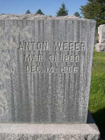 WEBER, ANTON - Dawes County, Nebraska | ANTON WEBER - Nebraska Gravestone Photos