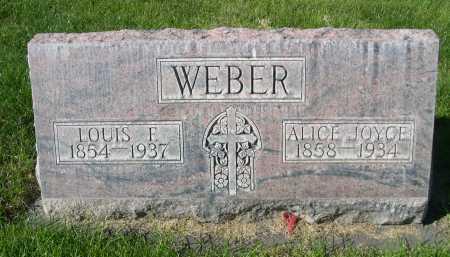 WEBER, ALICE JOYCE - Dawes County, Nebraska | ALICE JOYCE WEBER - Nebraska Gravestone Photos