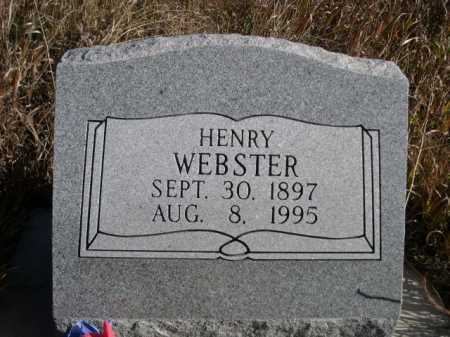 WEBSTER, HENRY - Dawes County, Nebraska | HENRY WEBSTER - Nebraska Gravestone Photos