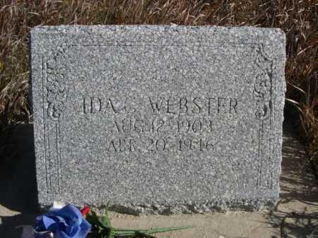 WEBSTER, IDA G. - Dawes County, Nebraska | IDA G. WEBSTER - Nebraska Gravestone Photos