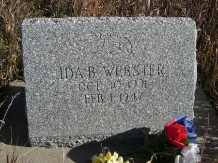 WEBSTER, IDA B. - Dawes County, Nebraska | IDA B. WEBSTER - Nebraska Gravestone Photos