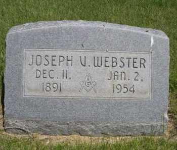 WEBSTER, JOSEPH V. - Dawes County, Nebraska | JOSEPH V. WEBSTER - Nebraska Gravestone Photos