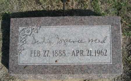 SPENCE WEED, SADIE - Dawes County, Nebraska | SADIE SPENCE WEED - Nebraska Gravestone Photos