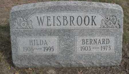 WEISBROOK, HILDA - Dawes County, Nebraska | HILDA WEISBROOK - Nebraska Gravestone Photos