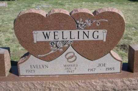 WELLING, EVELYN - Dawes County, Nebraska | EVELYN WELLING - Nebraska Gravestone Photos