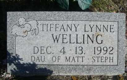 WELLING, TIFFANY LYNNE - Dawes County, Nebraska | TIFFANY LYNNE WELLING - Nebraska Gravestone Photos