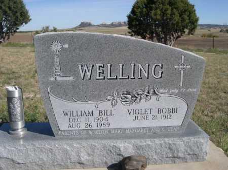 WELLING, VIOLET BOBBI - Dawes County, Nebraska | VIOLET BOBBI WELLING - Nebraska Gravestone Photos