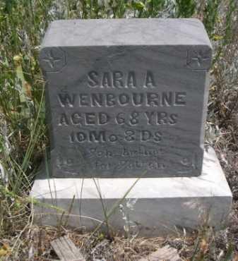 WENBOURNE, SARA A. - Dawes County, Nebraska | SARA A. WENBOURNE - Nebraska Gravestone Photos