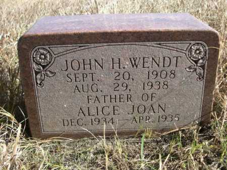 WENDT, ALICE JOAN - Dawes County, Nebraska | ALICE JOAN WENDT - Nebraska Gravestone Photos