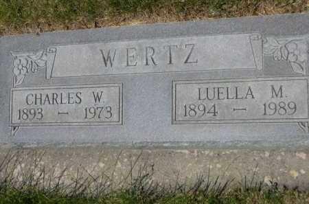 WERTZ, CHARLES W. - Dawes County, Nebraska | CHARLES W. WERTZ - Nebraska Gravestone Photos