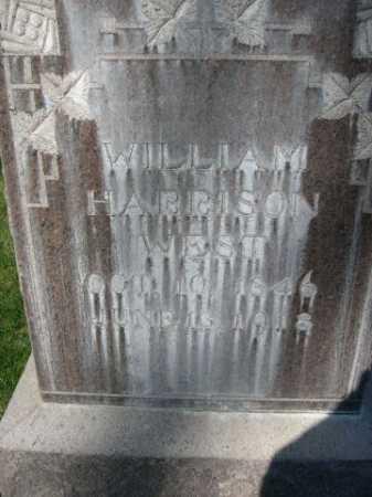 WEST, WILLIAM HARRISON - Dawes County, Nebraska   WILLIAM HARRISON WEST - Nebraska Gravestone Photos