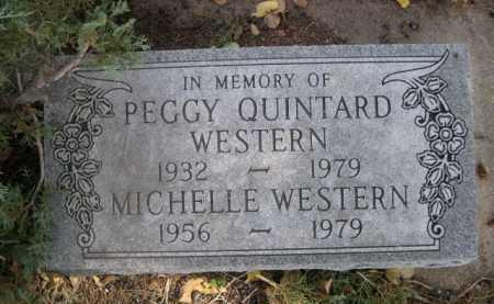 WESTERN, PEGGY - Dawes County, Nebraska | PEGGY WESTERN - Nebraska Gravestone Photos