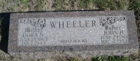 WHEELER, DORA N. - Dawes County, Nebraska | DORA N. WHEELER - Nebraska Gravestone Photos