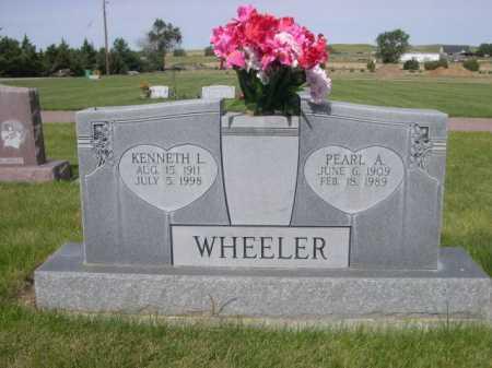 WHEELER, PEARL A. - Dawes County, Nebraska | PEARL A. WHEELER - Nebraska Gravestone Photos