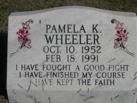 WHEELER, PAMELA K. - Dawes County, Nebraska | PAMELA K. WHEELER - Nebraska Gravestone Photos