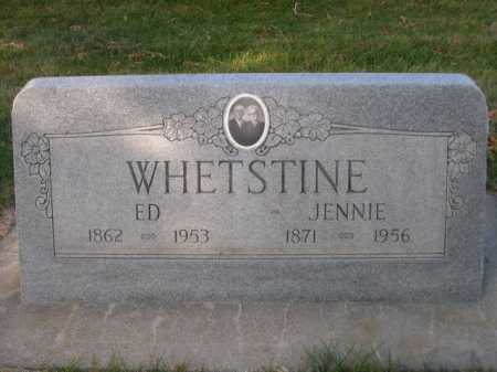 WHETSTINE, ED - Dawes County, Nebraska | ED WHETSTINE - Nebraska Gravestone Photos
