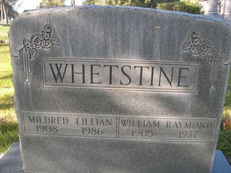 WHETSTINE, MILDRED LILLIAN - Dawes County, Nebraska   MILDRED LILLIAN WHETSTINE - Nebraska Gravestone Photos