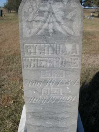 WHETSTONE, CYNTHIA A. - Dawes County, Nebraska | CYNTHIA A. WHETSTONE - Nebraska Gravestone Photos