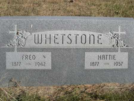 WHETSTONE, HATTIE - Dawes County, Nebraska | HATTIE WHETSTONE - Nebraska Gravestone Photos