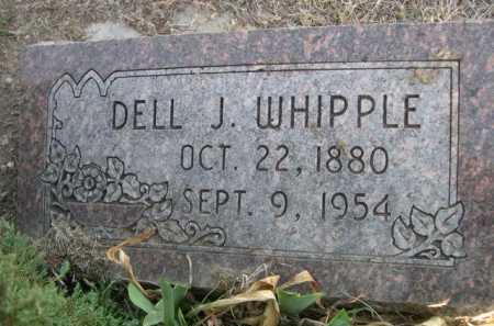 WHIPPLE, DELL J. - Dawes County, Nebraska   DELL J. WHIPPLE - Nebraska Gravestone Photos