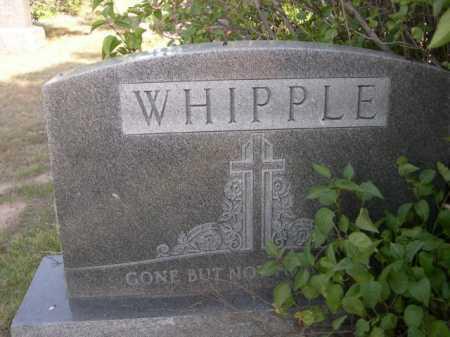 WHIPPLE, FAMILY - Dawes County, Nebraska   FAMILY WHIPPLE - Nebraska Gravestone Photos