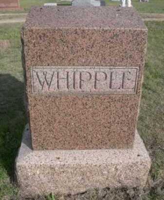 WHIPPLE, FAMILY - Dawes County, Nebraska | FAMILY WHIPPLE - Nebraska Gravestone Photos