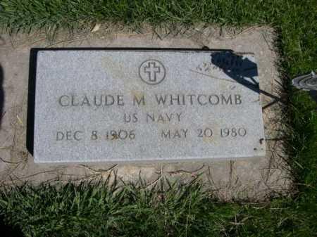 WHITCOMB, CLAUDE M. - Dawes County, Nebraska   CLAUDE M. WHITCOMB - Nebraska Gravestone Photos