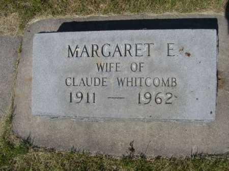 WHITCOMB, MARGARET E. - Dawes County, Nebraska | MARGARET E. WHITCOMB - Nebraska Gravestone Photos