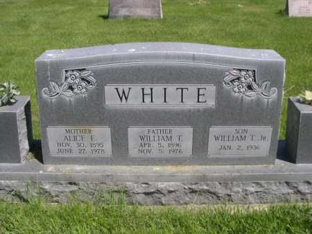 WHITE, WILLIAM T. JR. - Dawes County, Nebraska | WILLIAM T. JR. WHITE - Nebraska Gravestone Photos