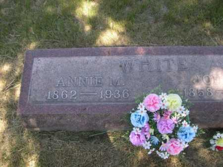 WHITE, ANNIE M. - Dawes County, Nebraska | ANNIE M. WHITE - Nebraska Gravestone Photos