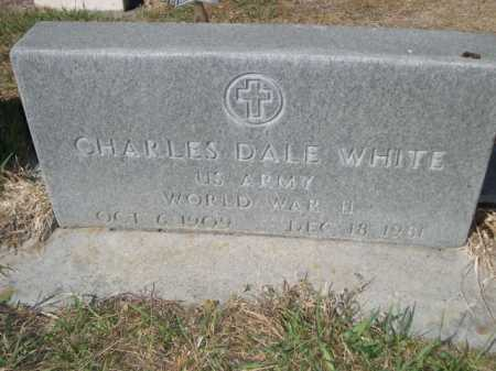 WHITE, CHARLES DALE - Dawes County, Nebraska | CHARLES DALE WHITE - Nebraska Gravestone Photos
