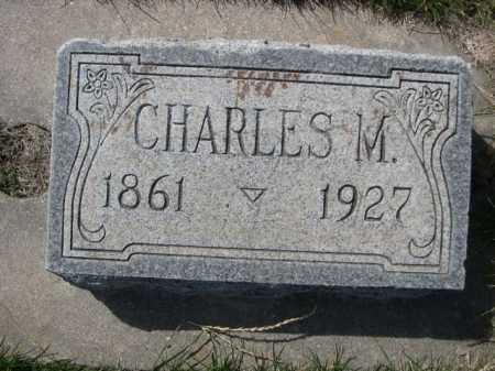 WHITE, CHARLES M. - Dawes County, Nebraska | CHARLES M. WHITE - Nebraska Gravestone Photos