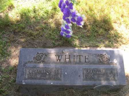 WHITE, MARTHA A. - Dawes County, Nebraska | MARTHA A. WHITE - Nebraska Gravestone Photos