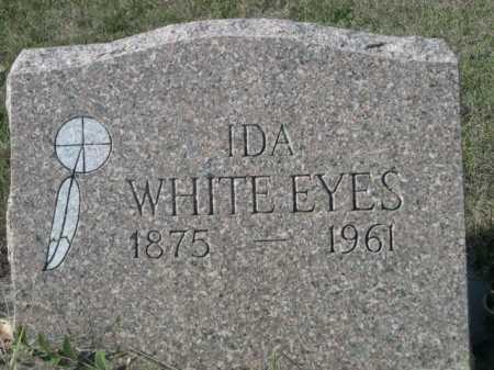 WHITE EYES, IDA - Dawes County, Nebraska   IDA WHITE EYES - Nebraska Gravestone Photos