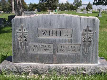 WHITE, GEORGIA O. - Dawes County, Nebraska | GEORGIA O. WHITE - Nebraska Gravestone Photos