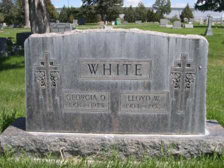 WHITE, LLOYD W. - Dawes County, Nebraska | LLOYD W. WHITE - Nebraska Gravestone Photos
