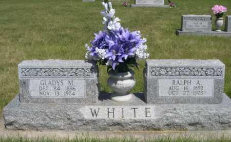 WHITE, GLADYS M. - Dawes County, Nebraska   GLADYS M. WHITE - Nebraska Gravestone Photos