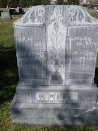 WHITE, SAMUEL MILTON - Dawes County, Nebraska | SAMUEL MILTON WHITE - Nebraska Gravestone Photos