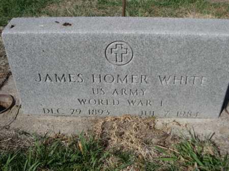 WHITE, JAMES HOMER - Dawes County, Nebraska   JAMES HOMER WHITE - Nebraska Gravestone Photos
