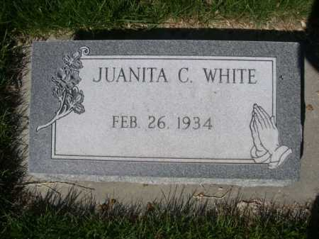 WHITE, JUANITA C. - Dawes County, Nebraska | JUANITA C. WHITE - Nebraska Gravestone Photos