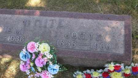 WHITE, JOHN H. - Dawes County, Nebraska   JOHN H. WHITE - Nebraska Gravestone Photos