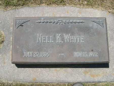 WHITE, NELL K. - Dawes County, Nebraska | NELL K. WHITE - Nebraska Gravestone Photos