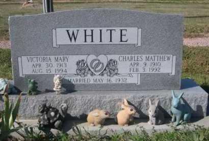 WHITE, VICTORIA MARY - Dawes County, Nebraska | VICTORIA MARY WHITE - Nebraska Gravestone Photos