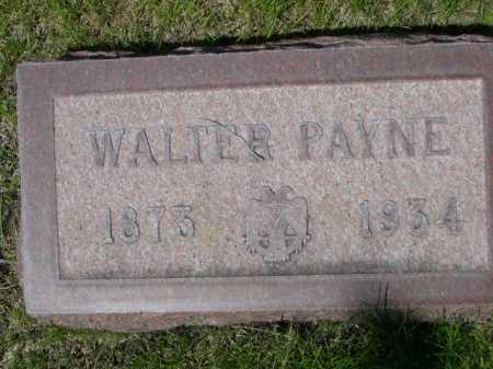 WHITE, WALTER PAYNE - Dawes County, Nebraska | WALTER PAYNE WHITE - Nebraska Gravestone Photos