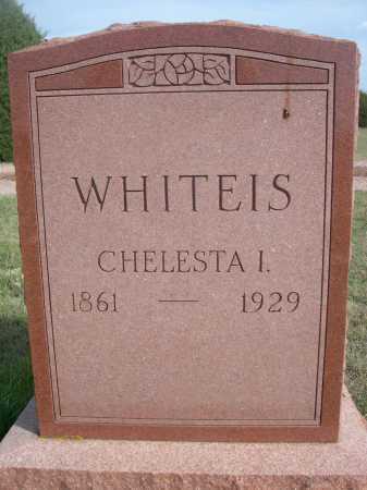 WHITEIS, CHELESTA I. - Dawes County, Nebraska   CHELESTA I. WHITEIS - Nebraska Gravestone Photos