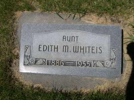 WHITEIS, EDITH M. - Dawes County, Nebraska | EDITH M. WHITEIS - Nebraska Gravestone Photos