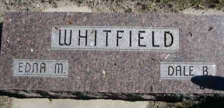 WHITFIELD, EDNA M. - Dawes County, Nebraska | EDNA M. WHITFIELD - Nebraska Gravestone Photos